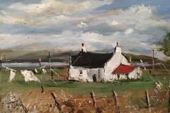 Windy day Highland Cottage